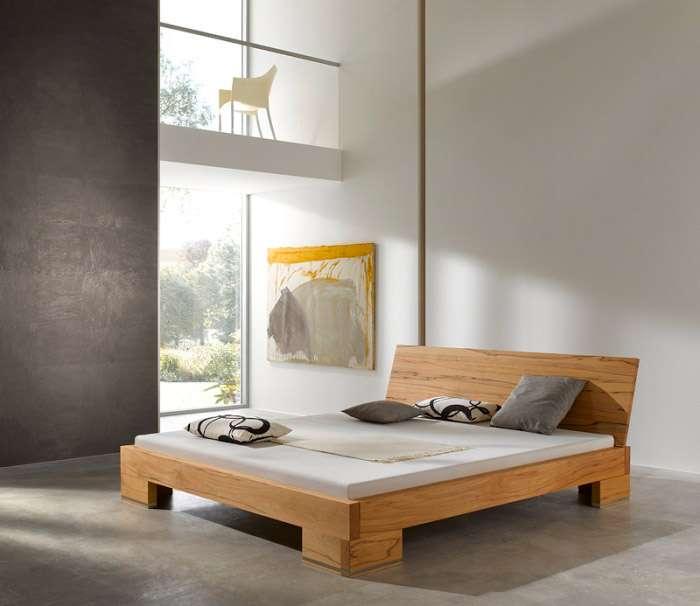 Cama de madera rústica Pure - PureNature