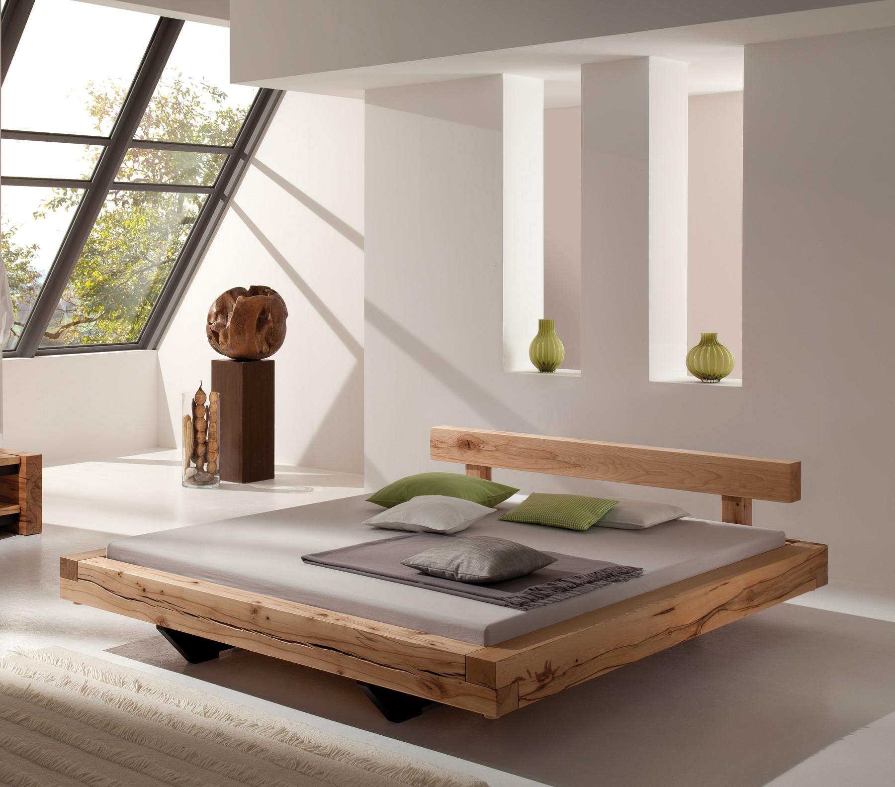 Cama de madera rústica Miramas - PureNature