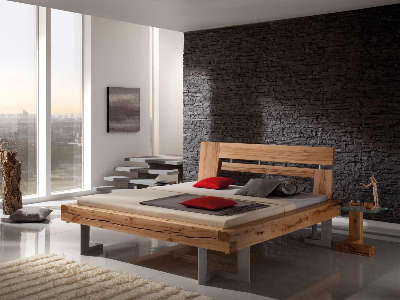 Cama de madera rústica Imus - PureNature